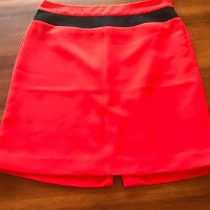 Banana Republic Pencil Skirt. Red. Size 8